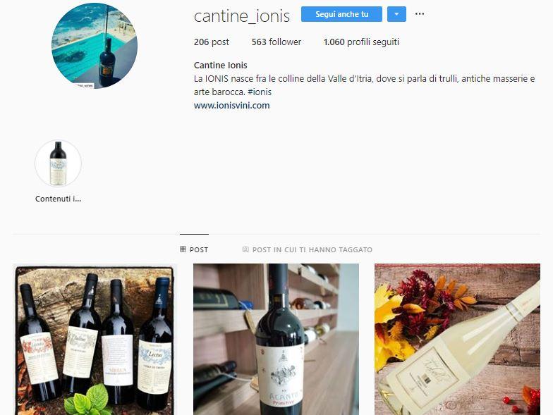 vini instagram