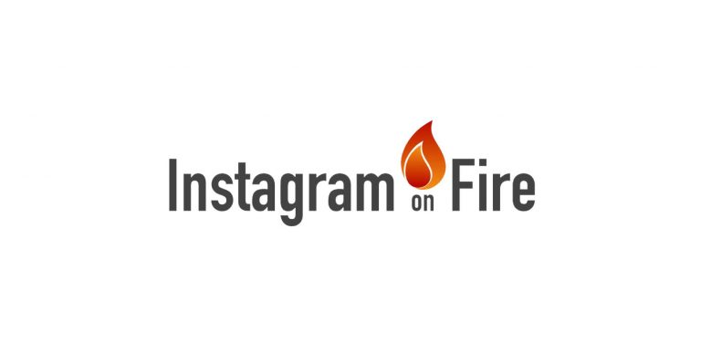 instagram on fire