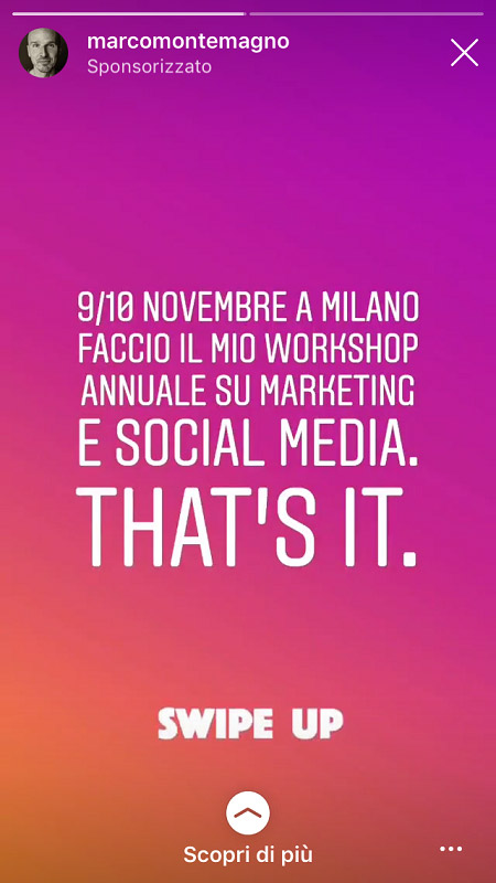 come sponsorizzare un post su instagram