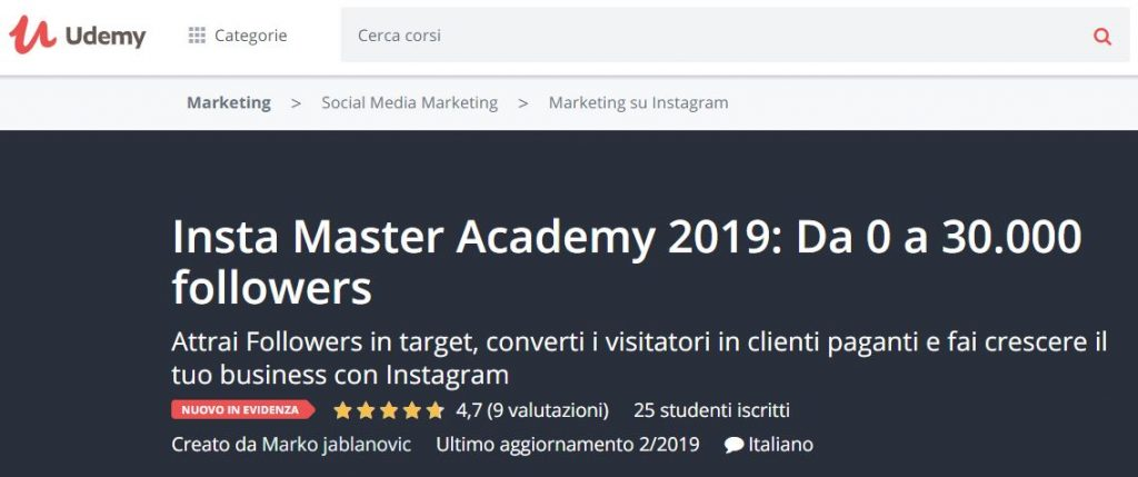insta master academy