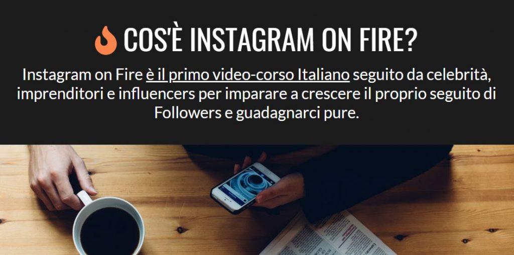 aumentare follower instagram con instagram on fire