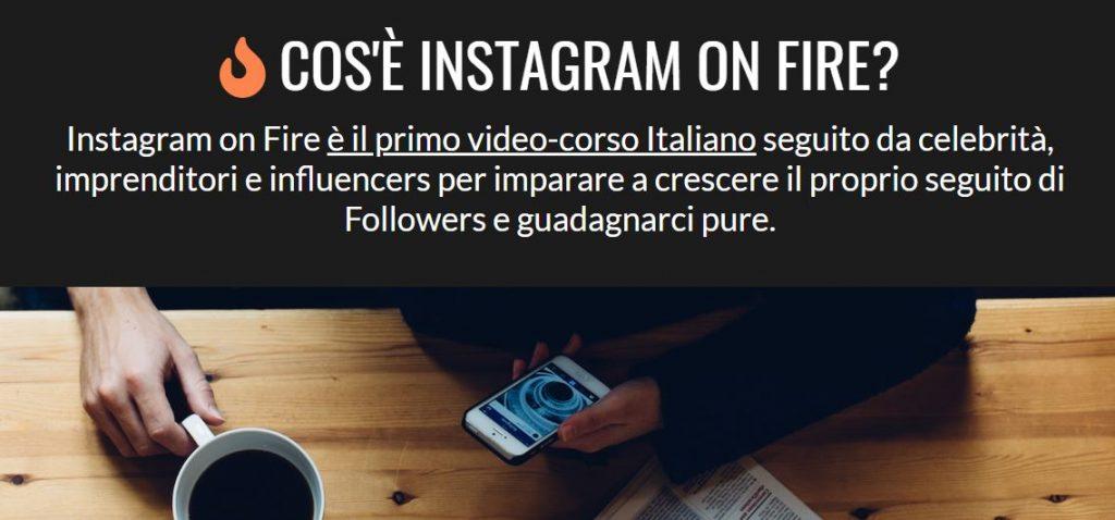 aumentare like instagram con instagram on fire