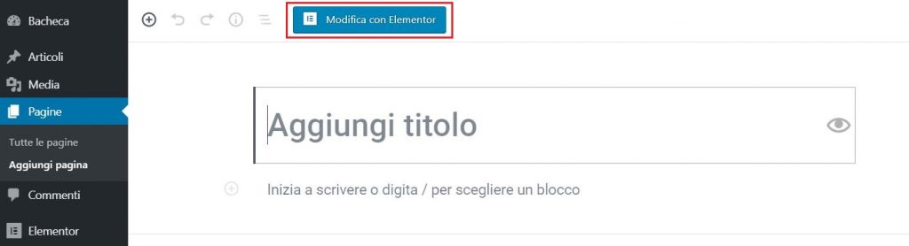 come installare elementor su wordpress