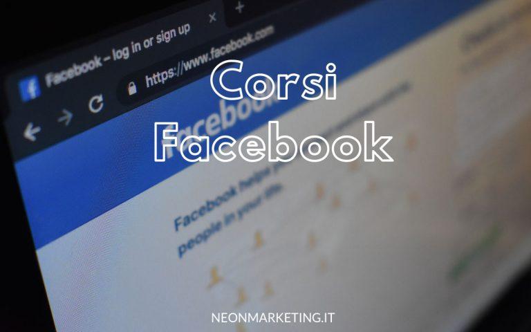 corsi facebook