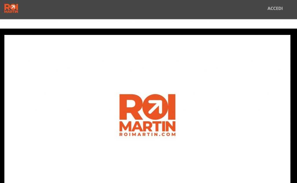 corso facebook roi martin