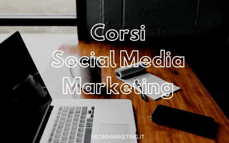 corsi social media marketing online