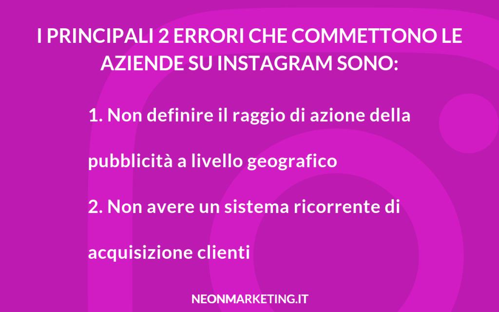 sponsorizzare profilo instagram