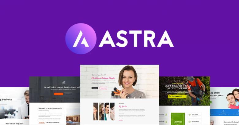 Migliori temi WordPress gratis Astra