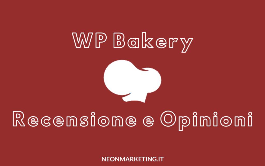 wp bakery recensine e opinioni