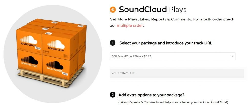 acquistare plays soundcloud