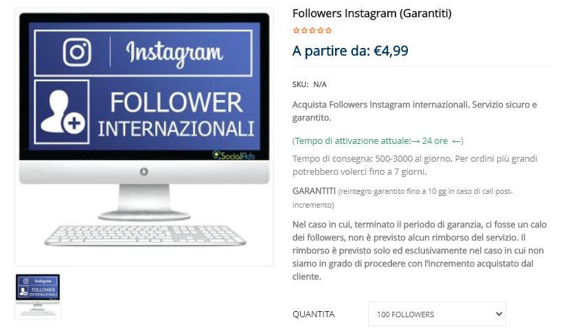 comprare follower instagram garantiti