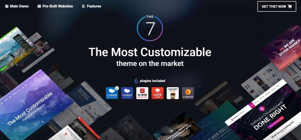 The 7 theme Themeforest