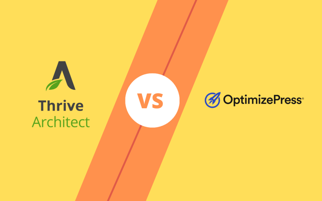 thrive architect vs optimizepress page builder