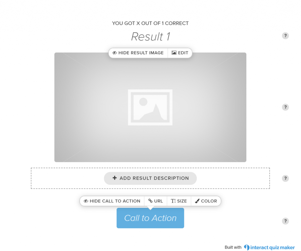 interact risultati personalizzabili