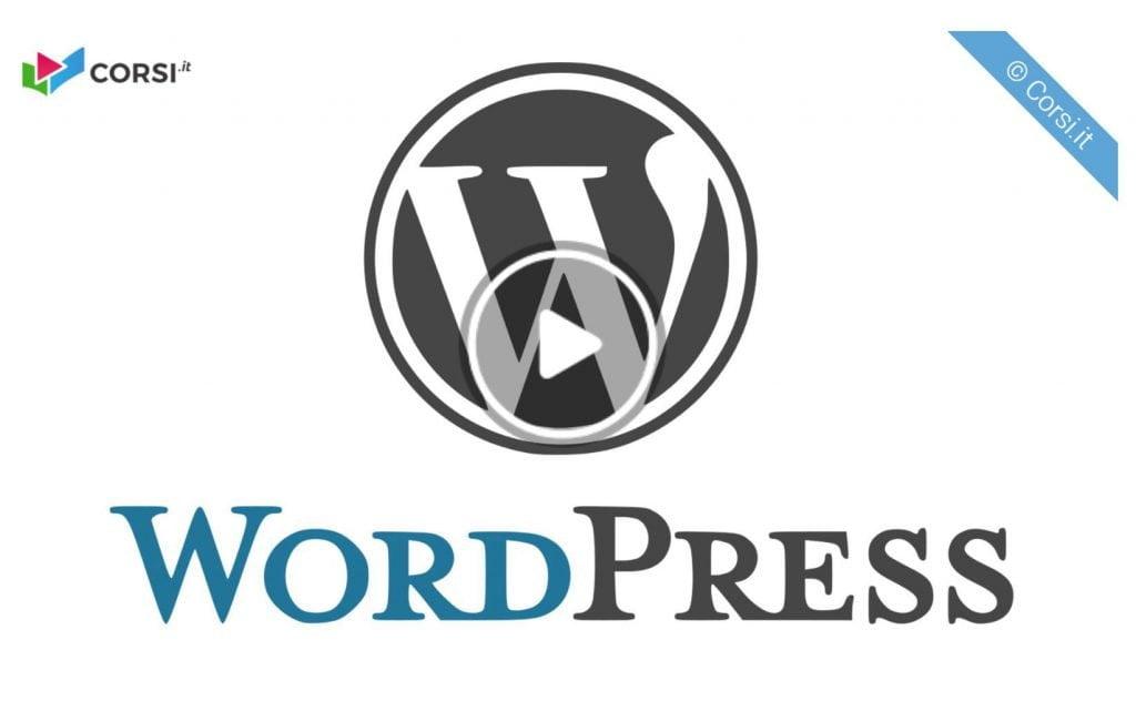 corso word press