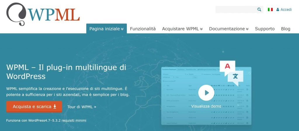 wordpress plugin multilingua