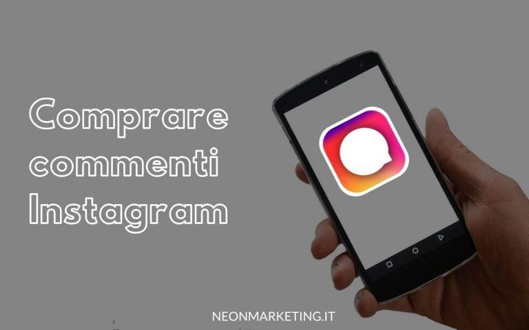 acquistare commenti instagram