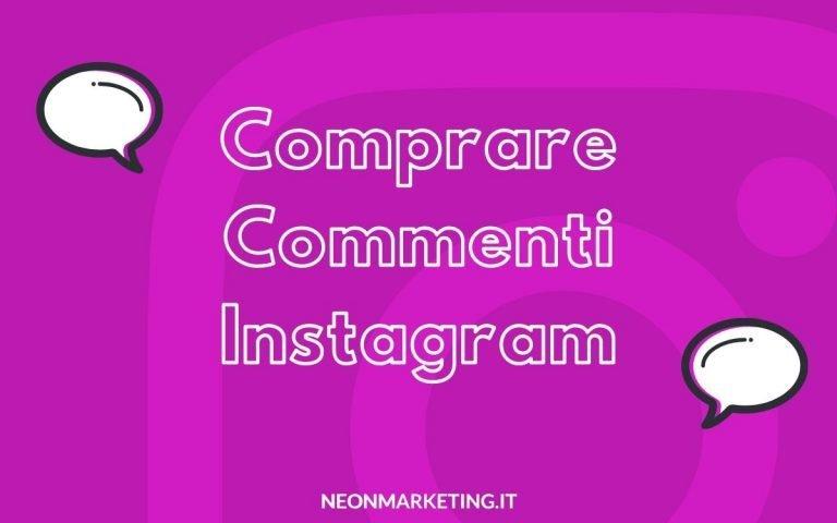comprare commenti Instagram