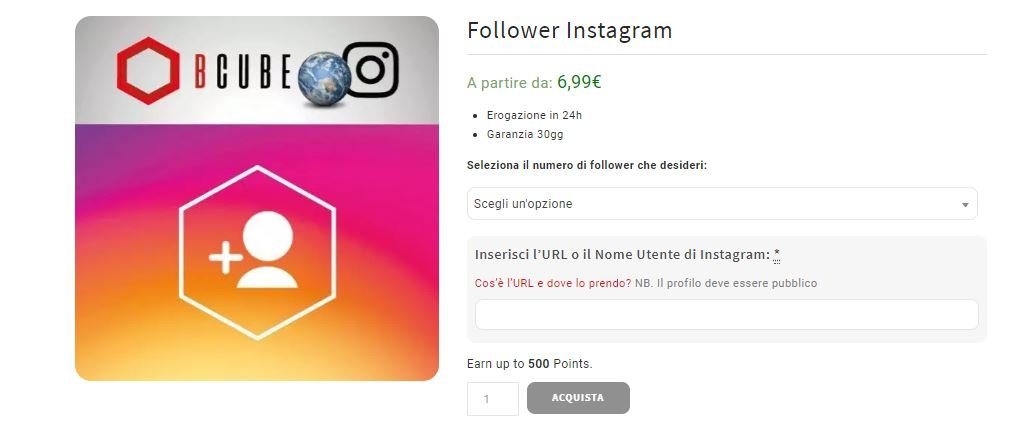 dove e come comprare follower Instagram reali