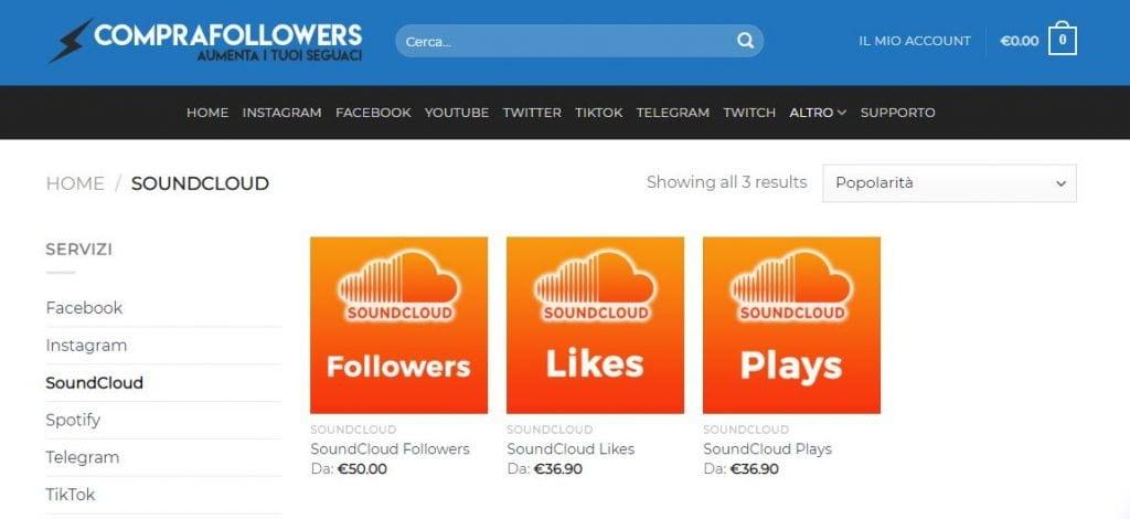 compra followers soundcloud