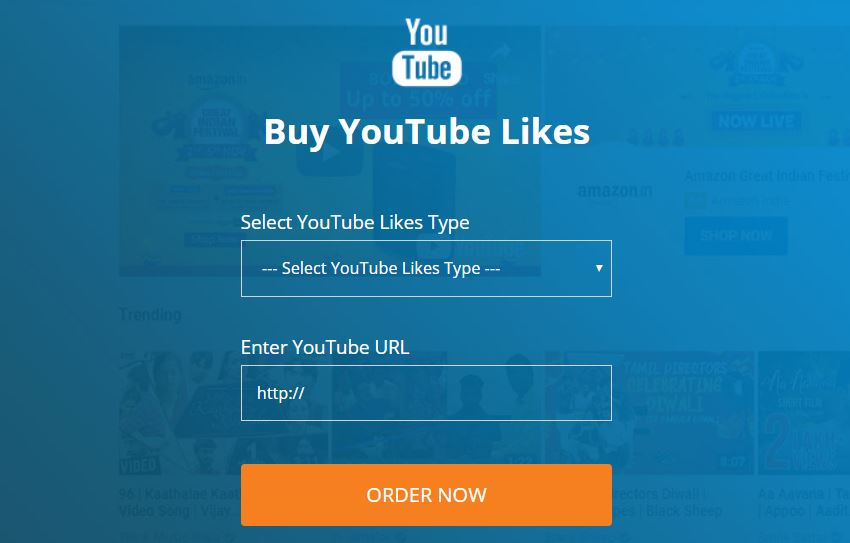 comprare likes youtube