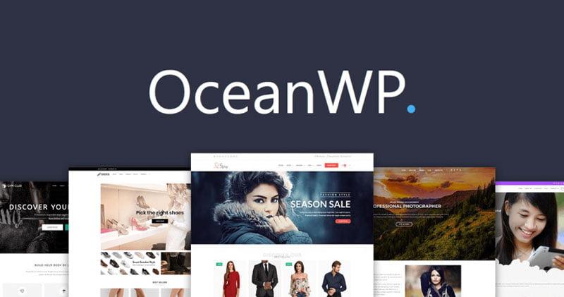 Ocean WP migliori temi Woocommerce