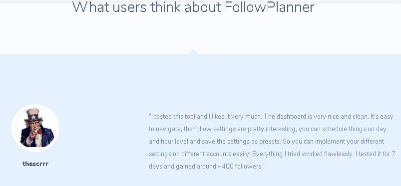 Followplanner recensione funzioni