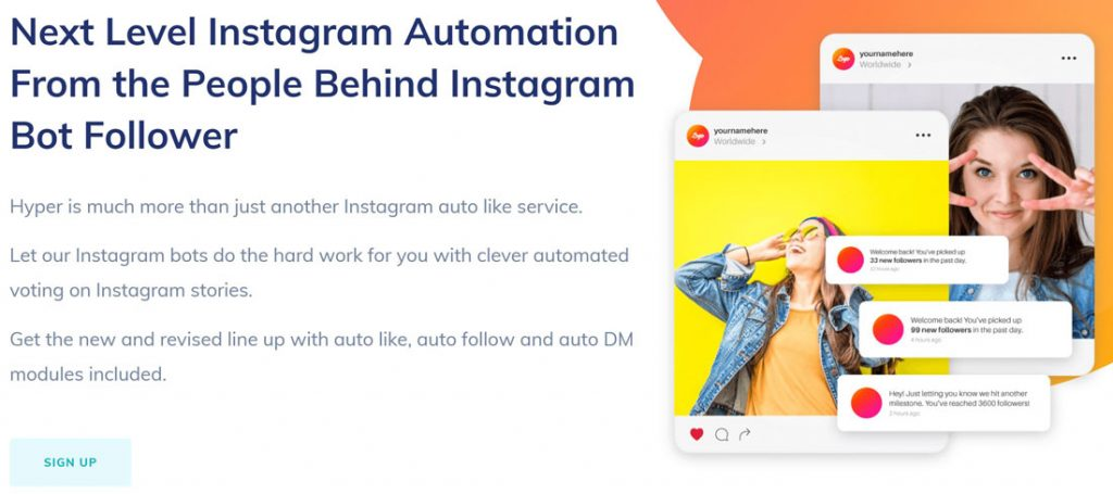 bot instagram storie