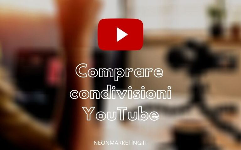 compra condivisioni youtube