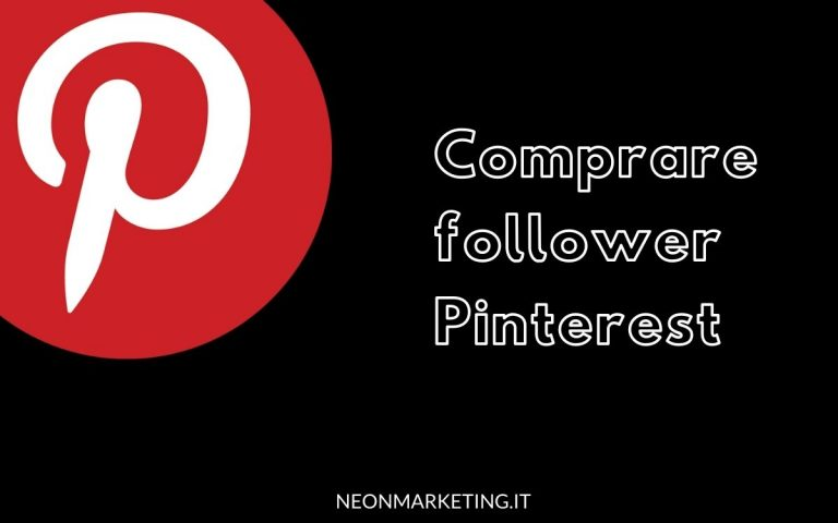 comprare follower pinterest