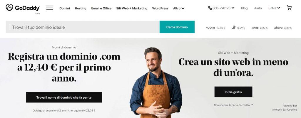 godaddy hosting wordpress