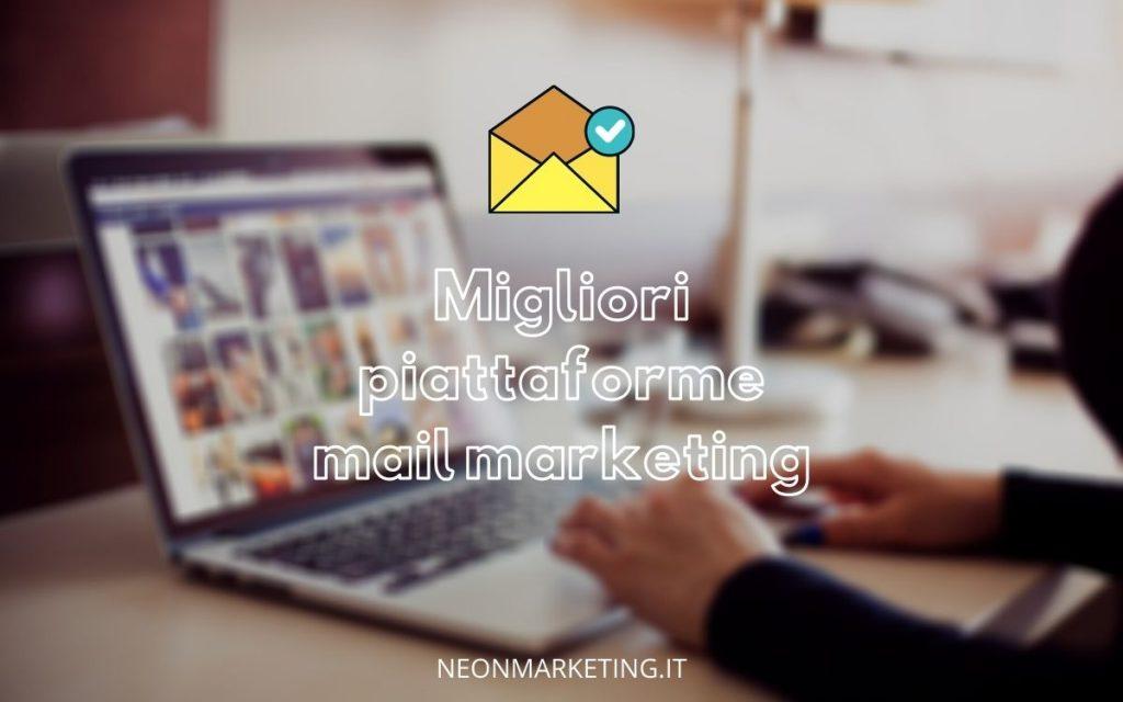migliori piattaforme email marketing
