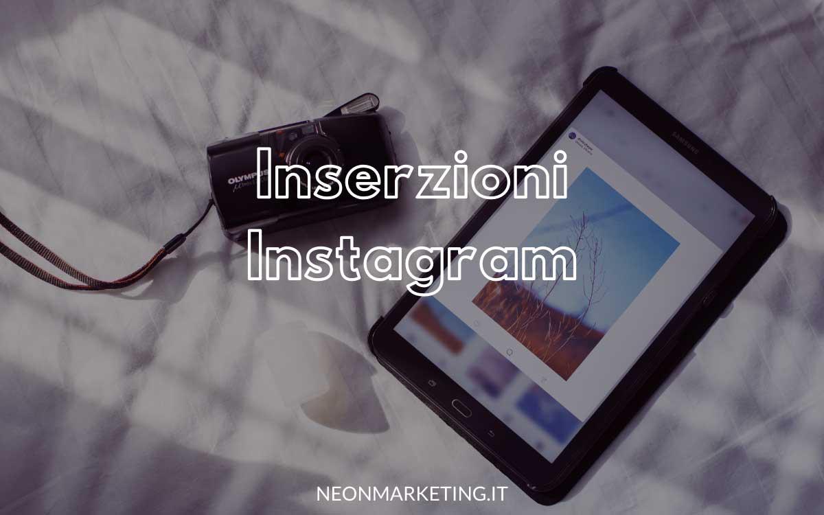 inserzioni instagram