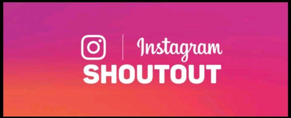 shoutout instagram cos'è