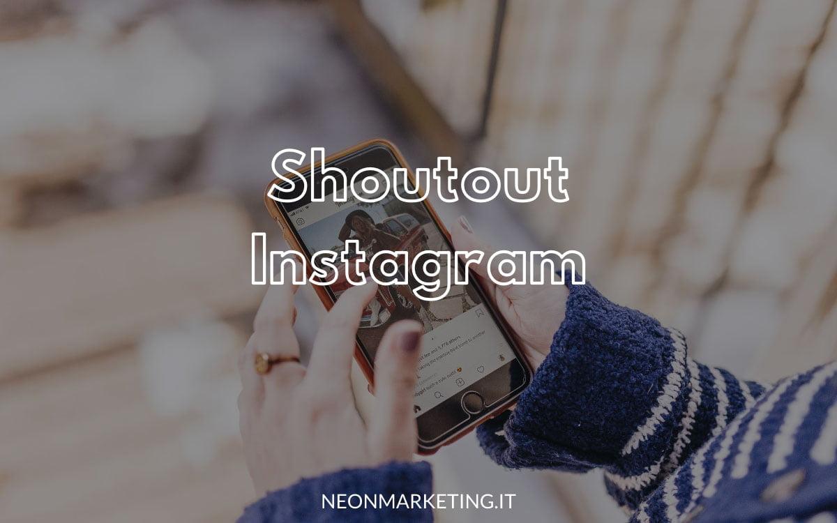 shoutout instagram