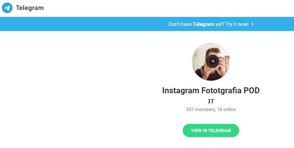 instagram pod italiani