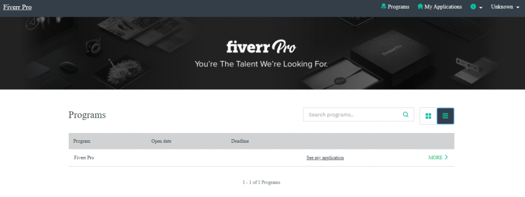 Fiverr pro badge