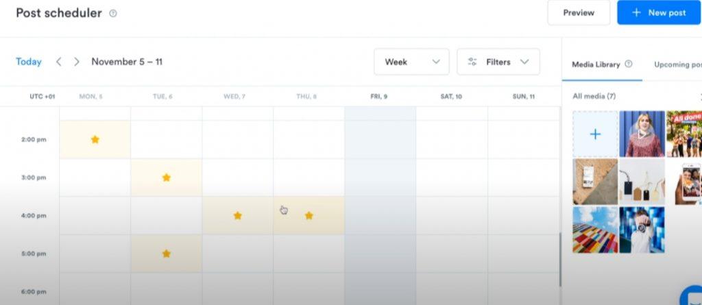 Scheduler Iconosquare