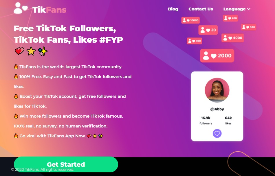aumentare follower tiktok gratis_TikFans