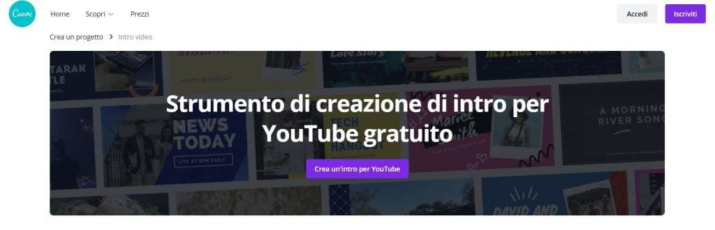 intro youtube maker free