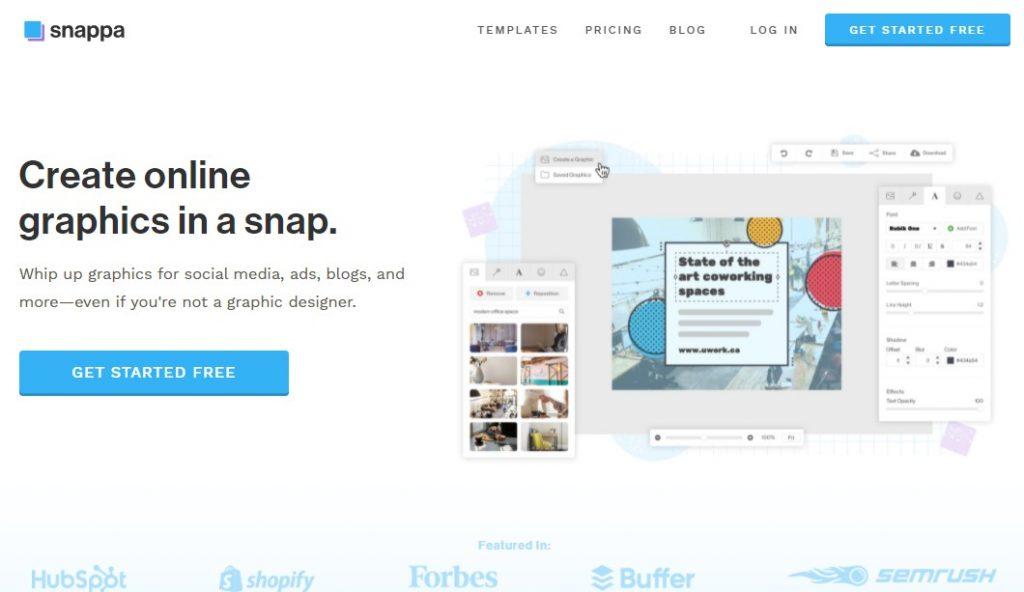 app per creare immagini instagram Snappa