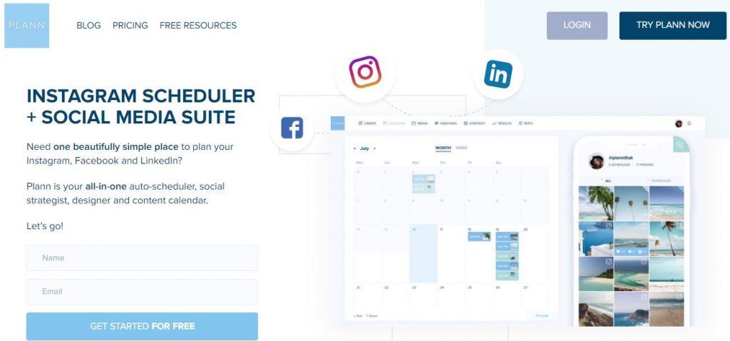 app per organizzare griglia instagram