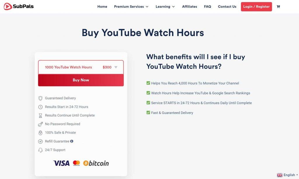 acquistare ore di visualizzazioni youtube