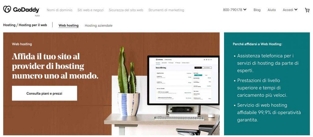 acquistare spazio web