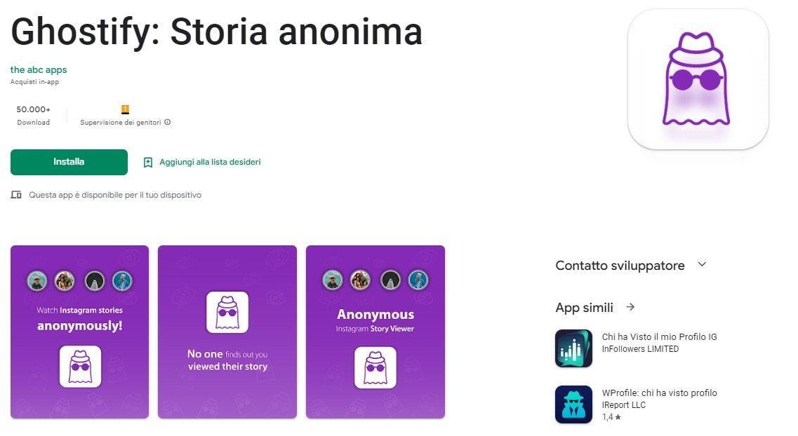 app per guardare storie instagram in anonimo