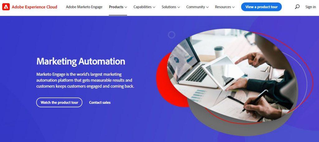 marketing automation tools marketo