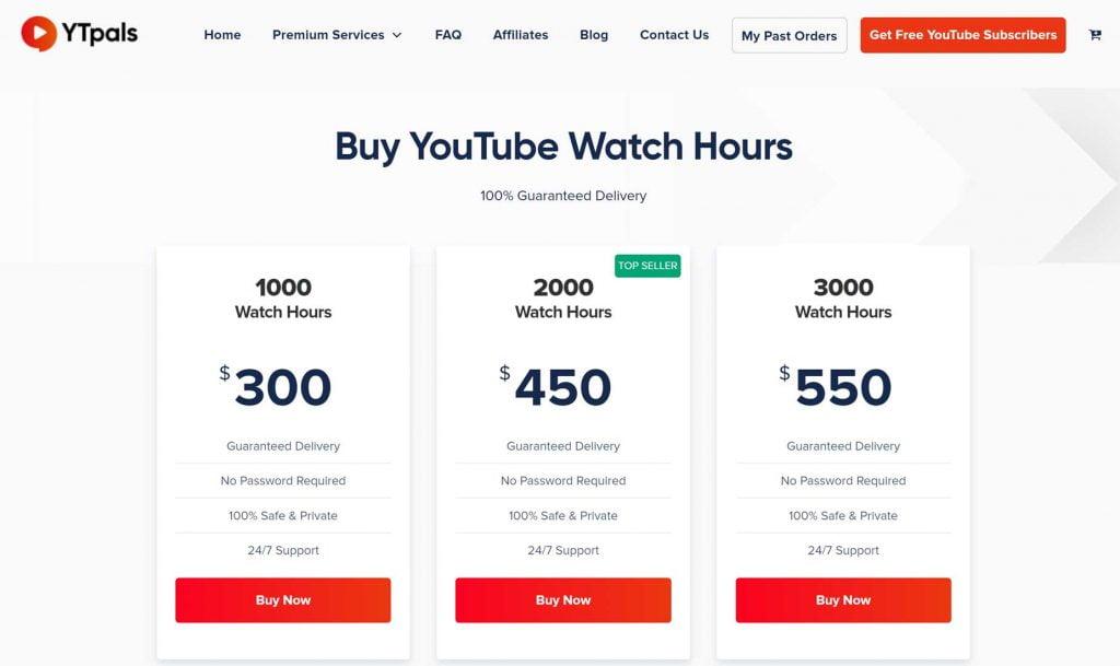 ore di visualizzazione youtube