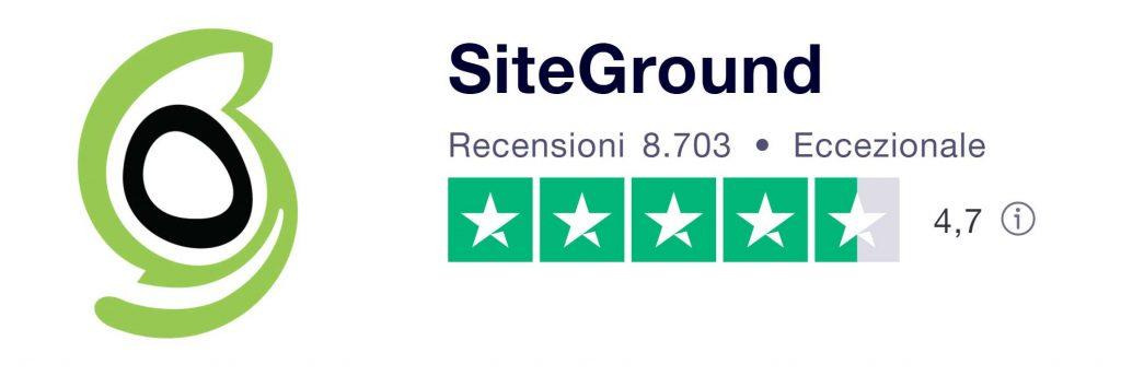 recensioni siteground