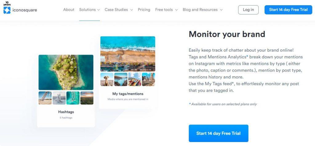 social listening tools iconosquare