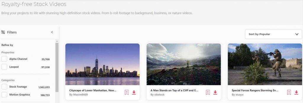 immagini e video stock Envato Elements